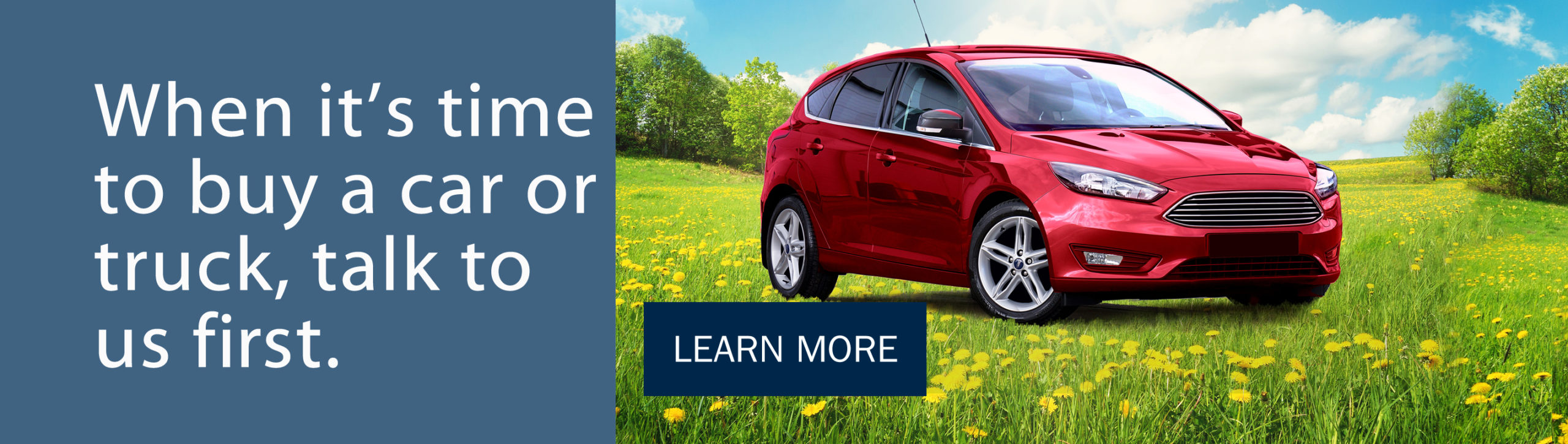 Are your ready for a new vehicle?