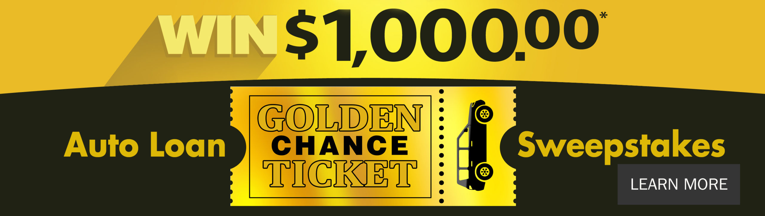 Win $1,000.00 Auto Loan Sweepstakes, Learn More