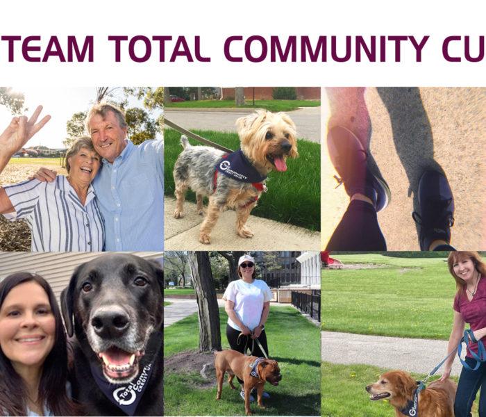 team total community credit union, walk images